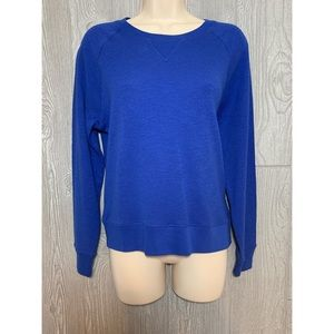 Madewell Royal Blue Cotton Top S NWT